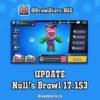 Null's Brawl 17.153 - Роза, новый интерфейс, новые карты