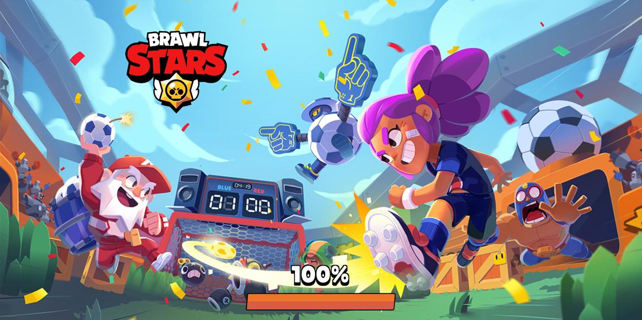 Новый загрузочный экран в Brawl Stars